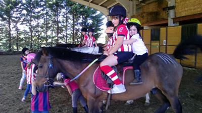 Equitacion para niños Bilbao